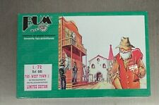 Bum 1/72 Far West Town Figures Hotel &  Church Diorama 101