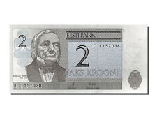 Billets Estonie, Estonie, 2 Krooni, type K. E. von Baer