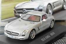 MERCEDES BENZ COUPE SLS AMG 2010 C197 SILVER IXO ALTAYA 1/43 SILBER ARGENT GRIS