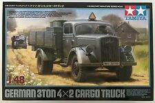 Tamiya 32585 German 3Ton 4x2 Cargo Truck 1/48 Model Kit NIB