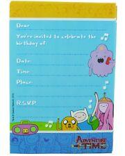 Adventure Time Invitations + Envelopes - 8ct