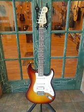 Fender Deluxe Stratocaster HSS Electric Guitar w/ Gig Bag w/ IOS Connectivity