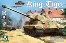 Takom Model Kit - Sd.Kfz.182 Porsche Turret King Tiger Tank - 1:35 Scale - 2074