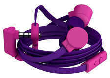 COLOUD POP TRANSITIONS In-Ear EarPhones Headphones with MIC & Remote in Purple