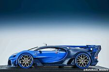 1:18 MR Bugatti Vision Gran Turismo light blue Leather Base