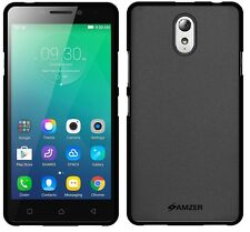 AMZER Exclusive Pudding Matte TPU Fitted Case Cover For Lenovo VIBE P1m - Black