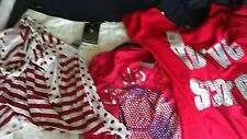 L@@K NWT X 5 NEXT SIZE 18 RED/WHITE SUMMER HOLS CLOTHES BUNDLE 1 ITEM RRP £30!!