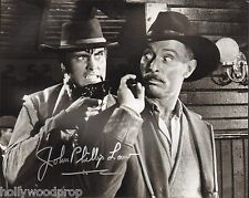 JOHN PHILLIP LAW SIGNED DEATH RIDES A HORSE PHOTO AUTOGRAPH COA LEE VAN CLEEF