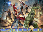 AVENGERS Edible Photo CAKE Topper Decoration ICING Image Party Supply