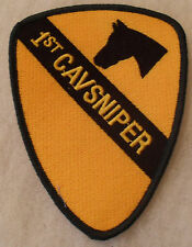"IRAQI WAR ERA 1ST CAV DIV ""1ST CV. SNIPER"" PATCH"