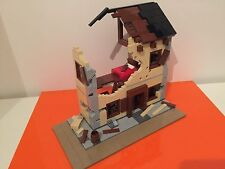 Lego Custom WWII Destroyed House - HOUSE ONLY!