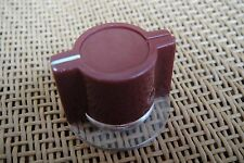 Burgundy Marconi API Type Skirted Pedal Knob For Neve 1073 1080 1081 Effects