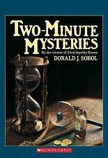 Two-Minute Mysteries (Apple Paperbacks), Donald J. Sobol, Good Book