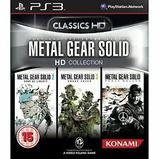 Ps3 gioco Metal Gear Solid HD Collection con 2 & 3 & Peace Walker TRILOGY NUOVO