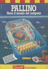 X2413 PALLINO verso il mondo dei computer - Pubblicità 1986 - Advertising