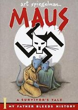 MAUS My Father Bleeds History Vol I Art Spiegelman NEW Pantheon Graphic Novel