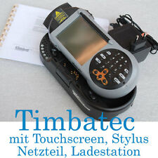 TIMBATEC PDA POCKET PC TOUCHSCREEN CHARGER UNIT WINDOWS CE STYLUS LASERSCANNER