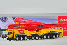 1:50 Sany 86 Metres Concrete pump cement truck Construction Machinery Model