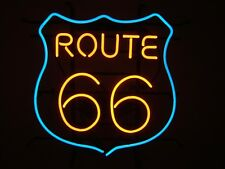 New 1950's American Style Retro Neon Diner Sign Hanging Or Standing - ROUTE 66
