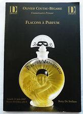 """CATALOGUE DE VENTE """"FLACONS A PARFUM"""" 11 JUIN 2007"""