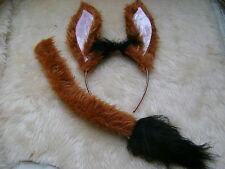 Disneys The Lion King - Pumbaa The Warthog Ears & Tail Set Faux Fur Fancy Dress