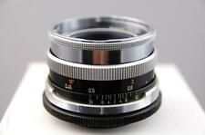 Carl Zeiss Icarex fit Tessar 50mm f2.8 lens, mint cosmetic lens