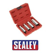 "SEALEY Spark Plug Socket Set 4pc 3/8""Sq Drive AK6556"