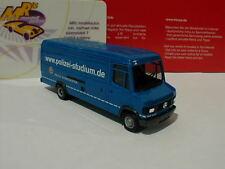 """Herpa 091411 # Mercedes-Benz T2 Langkasten """" Polizei Niedersachsen """" blau 1:87"""