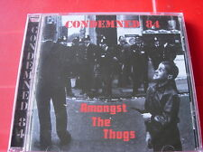 Condemned 84 Amongst The Thugs CD NEW SEALED 2000 Oi! Punk Skinhead