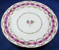 Antique 18thC La Courtille Porcelain Floral Plate Porcelaine Locre Assiette #6