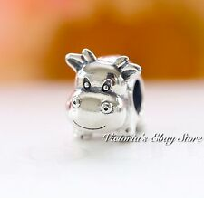 Authentic Pandora Silver COW Animal Charm #790565 RETIRED
