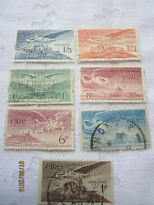 IRELAND 1948-65 USED SET OF 7 AIR S G 140- 143b    284
