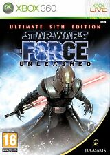 Xbox 360 Game Star Wars: The Force Unleashed The Ultimate Sith Edition NEW