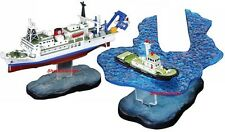 JAPAN SINKING OCEAN SCIENCE RESEARCH TEAM SHIPS 1:700 DIORAMA SET SINK_6_9 RARE
