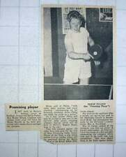 1960 Promising Table Tennis Player 12-year-old Philip Pullen , Clapham