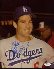 STEVE GARVEY JSA CERT STICKER SIGNED 8X10 PHOTO AUTHENTIC AUTOGRAPH