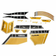GENUINE YAMAHA SUPER TENERE XT1200Z YELLOW WORLDCROSSER STICKER SET 23PF17C0V010