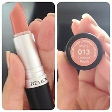 REVLON MATTE LIPSTICK SMOKED PEACH #013 DUPES MAC RAVISHING COLOR FREE SHIPPING