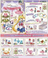 Re-ment Sailor Moon Crystal Cafe Sweets Collection Full 8 SET Japan