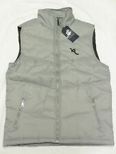 $50 NWT NEW Mens Rocawear Contrast Logo Puffer Vest Jacket Red Urban Size M N287
