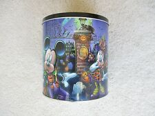 NEW Disney Mickey Minnie Donald Goofy Pluto Halloween Popcorn Candy Cookies Tin