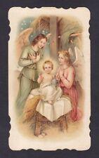 SANTINO 146 GESÙ BAMBINO - HOLY CARD IMMAGINETTA RELIGIOSA - CURIO SVIZZERA 1920