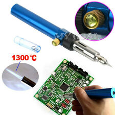 Mini Gas Torch Cordless Butane Solder Pen Iron Gun Welding Soldering Kit