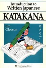 NEW - Introduction to Written Japanese Katakana (Tuttle Language Library)
