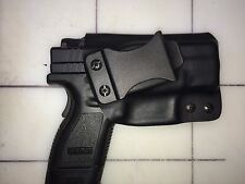 IWB Holster - Springfield XD Sub Compact 9 or 40  - Adj Retention - 15 Deg Cant