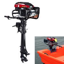 Universal 7HP 4 Stroke Outboard Motor Tiller Shaft Boat Engine 173cc Hand start
