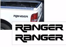 FORD RANGER BEDSIDE TAILGATE VINYL DECAL STICKER VEHICLE TRUCK  BLACK or WHITE