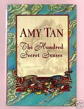 THE HUNDERED SECRET SENSES AMY TAN SIGNED HB 1/1- VERY GOOD CONDITION