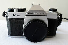 PENTAX K 1000 CLASSIC STUDENT MANUAL CAMERA BODY IN WORKING CONDITION