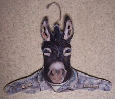 Clothes Hanger Military Animal Army Donkey Stupell wood NEW